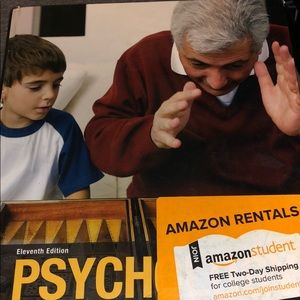 Psychology book 11th edition